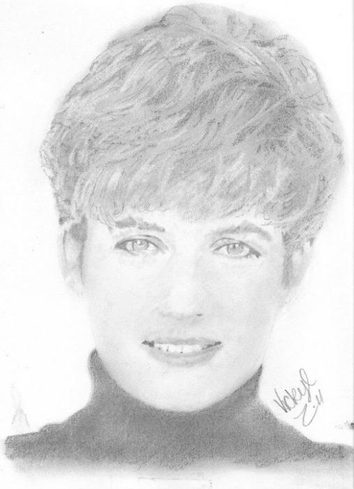Lady Diana por tikkileo